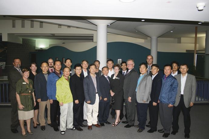 Korean-delegation