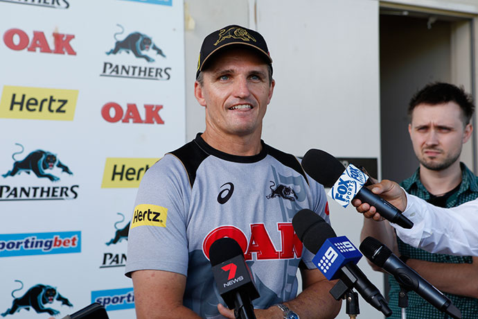 Panthers coach Ivan Cleary