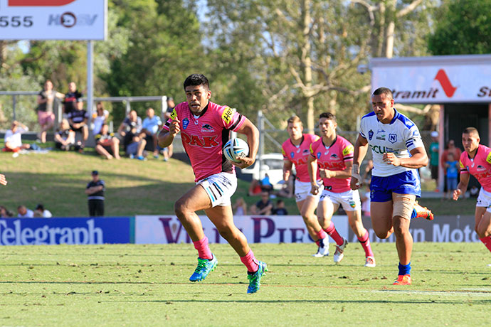 Tyrone Peachey in action