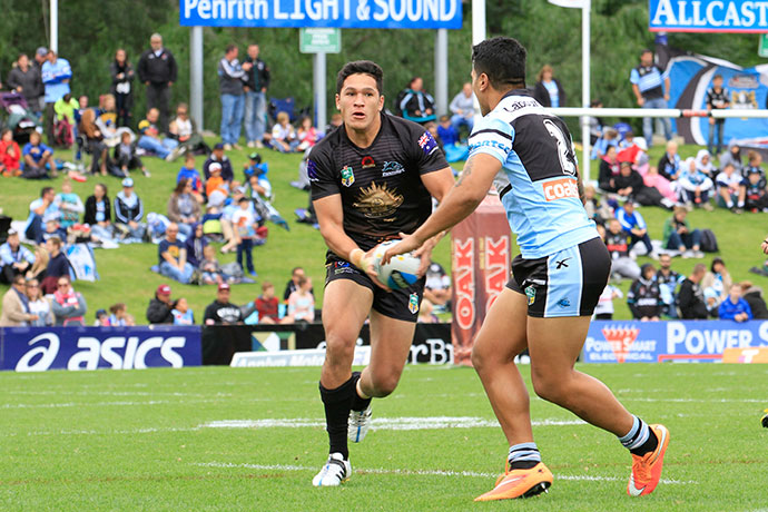Dallin Watene-Zelezniak in action last year