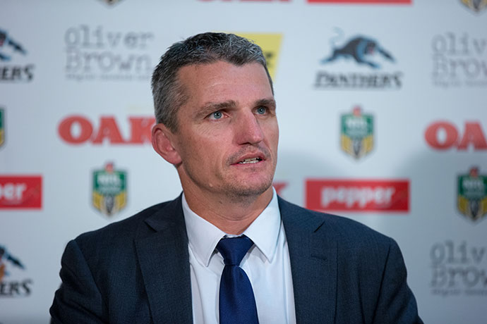 Panthers coach Ivan Cleary. Photo: Andrew Farrell / 77Media