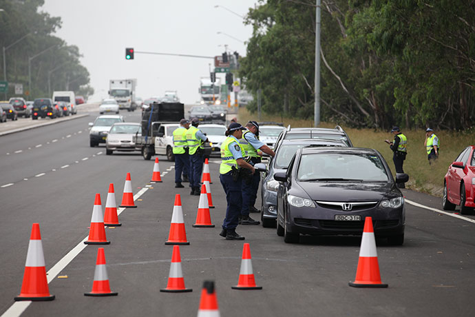 Police will be visible on the roads this weekend