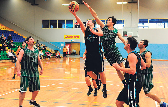 Dynamic point guard Ben Kearins will need to find a new home after the Penrith Basketball Association voted to not participate in the 2016 WCL competition. Photo: Noel Rowsell  (www.photoexcellence.com.au)