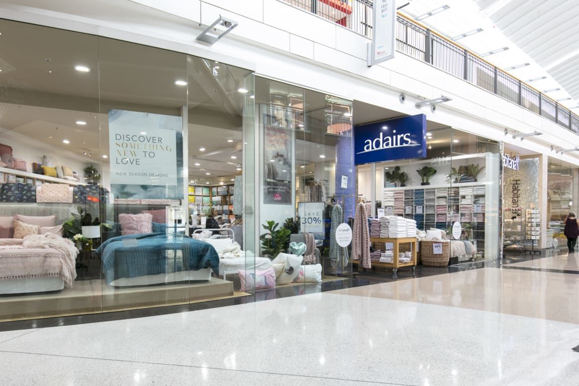 Adairs set to re-open retail outlets | The Western Weekender