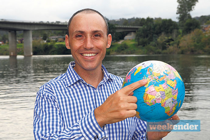 From Penrith to Paris: Former Lindsay MP David Bradbury now lives and works in Paris