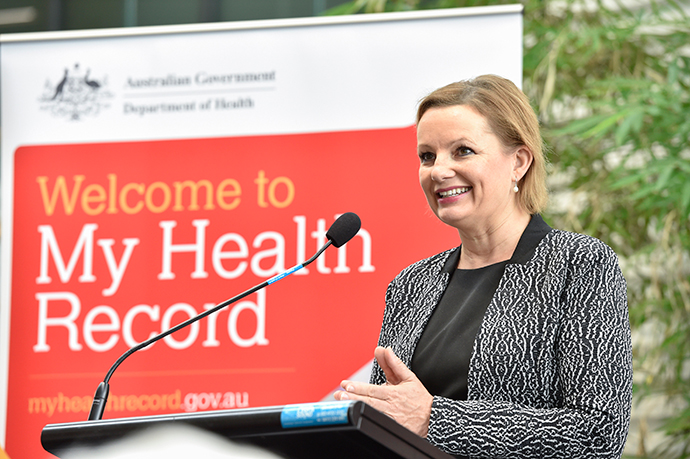 Minister for Health, Sussan Ley at the launch