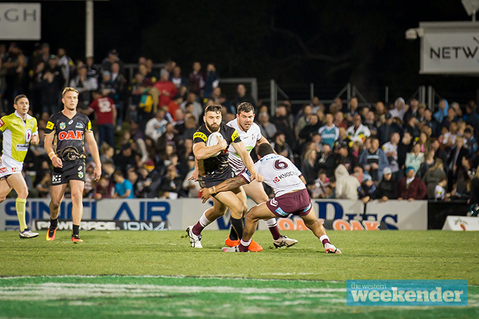 Josh Mansour in action last weekend. Photo: Megan Dunn