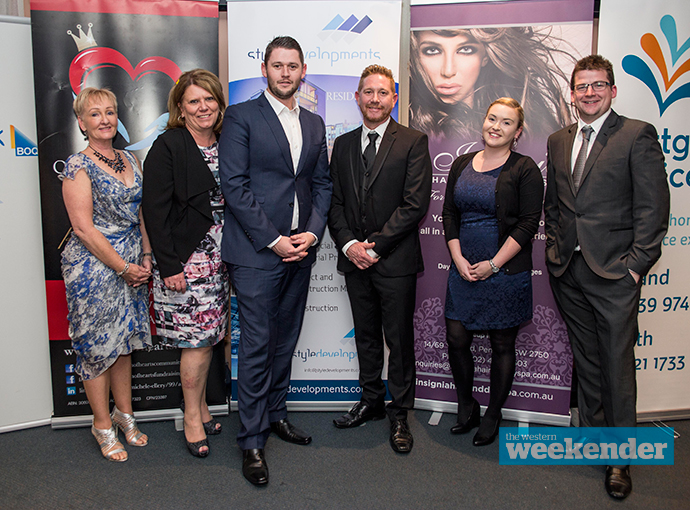 The team from Bank of Queensland Penrith at the fundraiser. Photo: Hilary Nathan Photography