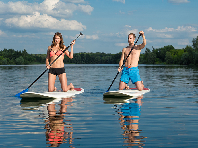 Free kayak and Stand Up Paddleboard hire, along with bike hire on Saturday at the Real Festival.