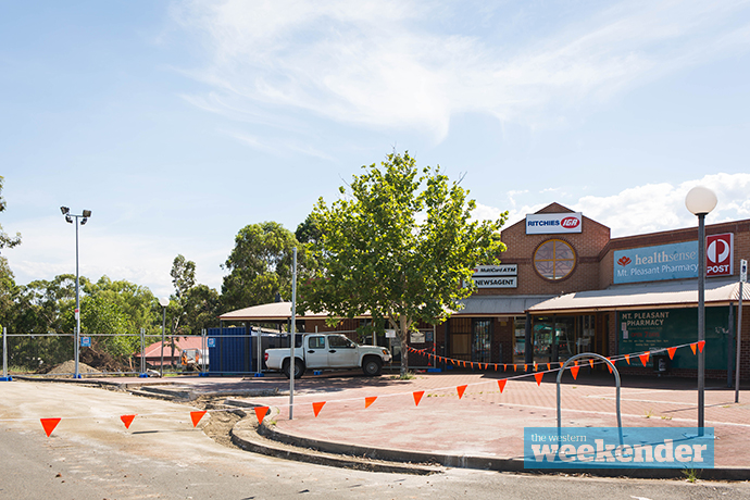 Construction work is underway at Cranebrook
