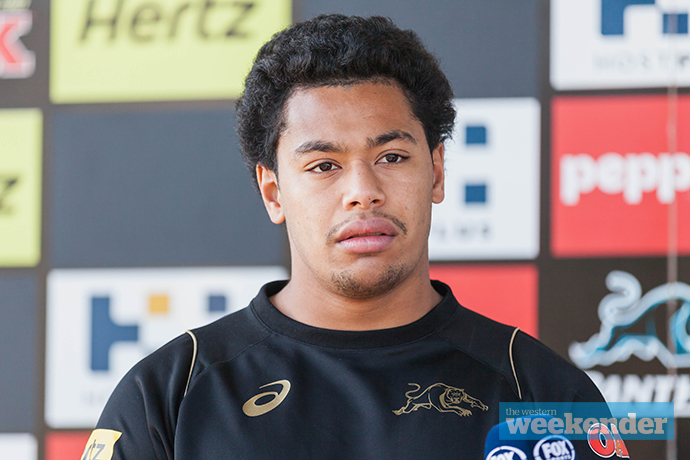 A different looking Waqa Blake last year.
